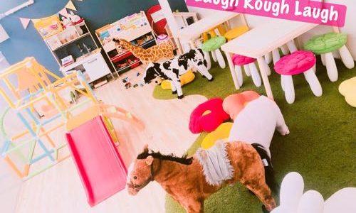 【大阪】赤ちゃん連れランチ。キッズスペース完備の「親子カフェ Laugh Rough Laugh」