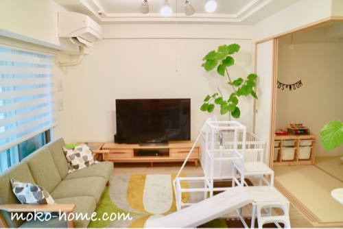 ホワイトカラーの室内用ジャングルジム