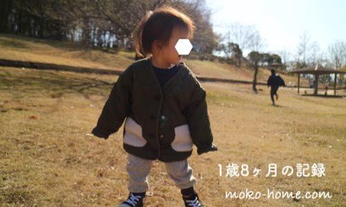 1歳8ヶ月の子ども