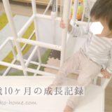 【1歳10ヶ月】言葉を喋れない息子が、最初に数字をかぞえるようになった