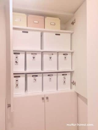マンションのバスルーム脱衣所 収納方法・収納例|ブログ