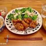 ブラックパラティッシのオーバルプレート|和食盛り付け例