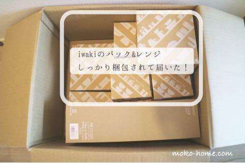 iwaki(イワキ)のパック&レンジを購入!梱包の状態