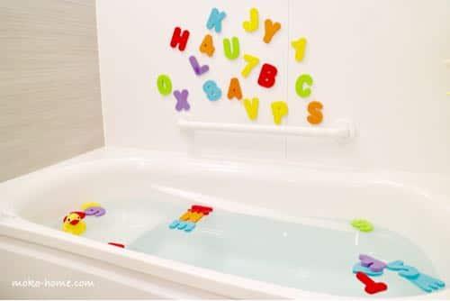 家のお風呂でプール