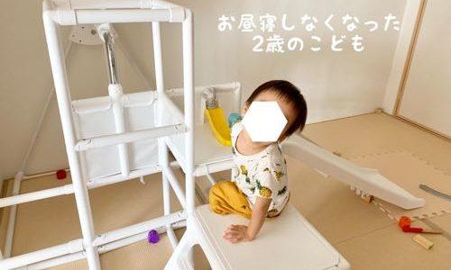 2歳でお昼寝しなくなった息子。毎日の過ごし方に悩みつつ対策を考える