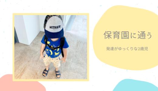 保育園に通う2歳児