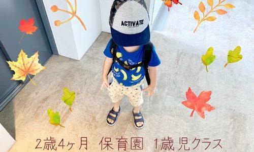 ことばの発達に遅れのある子どもが、保育園に通った様子【2歳4ヶ月】
