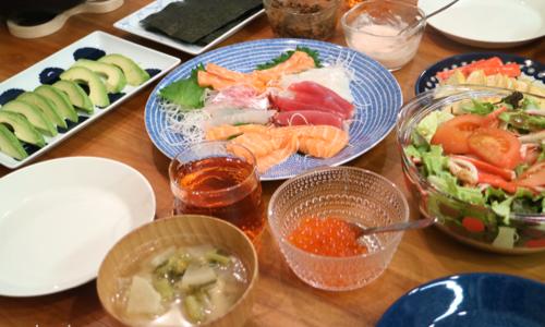 【節分】おうちで楽しく手抜き手巻き寿司|波佐見焼と北欧食器