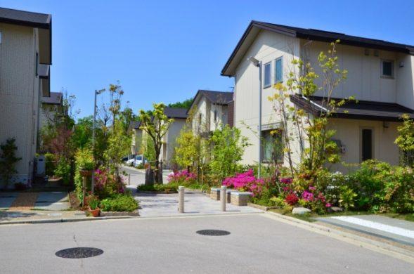 美しい新興住宅地