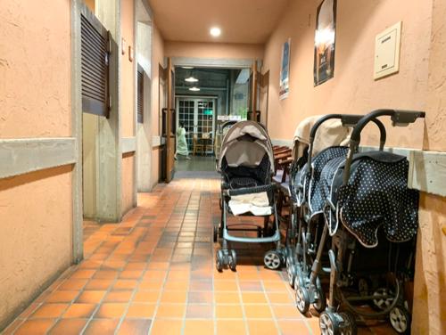 おもちゃ王国ホテルグリーンプラザ東条湖レンタルベビーカー