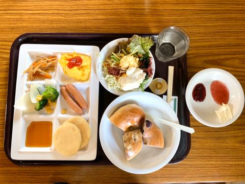 おもちゃ王国ホテルグリーンプラザ東条湖レストラン朝食