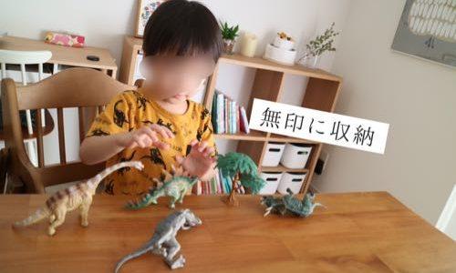 リアルな恐竜フィギュアセットを3歳の誕生日プレゼントに。収納方法&レビュー