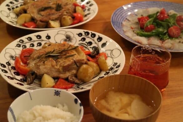 最近の食卓 北欧食器
